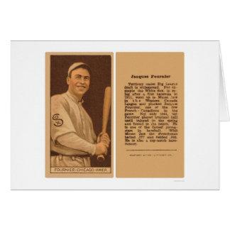 Jack Fournier White Sox Baseball 1912 Card