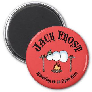 Jack Frost Roasting 6 Cm Round Magnet