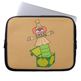 Jack in a Box Laptop Sleeve