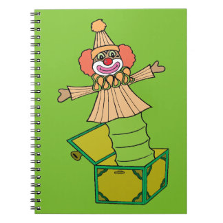 Jack in a Box Notebooks