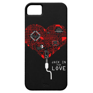 Jack in for love iPhone 5 cover