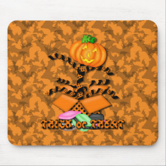 Jack in the Box Halloween Mouse Pad
