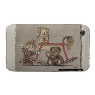 Jack in the Box, Horse & Bear iPhone 3 Case-Mate Case