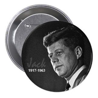 Jack Kennedy 1917-1963 7.5 Cm Round Badge