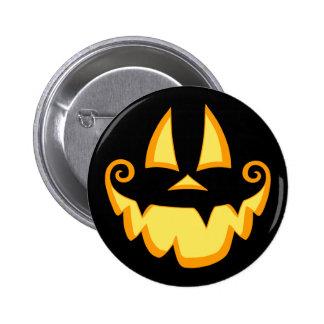 Jack-o-Face II Pinback Button