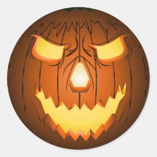Jack-o-Fear Pumpkin sticker