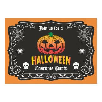 Jack O' Halloween Party Invitation