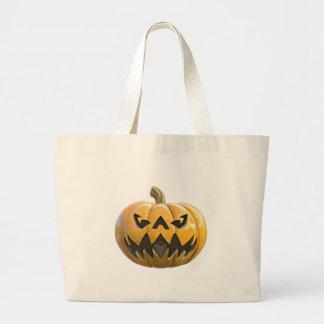 Jack O Lantern 1 Large Tote Bag
