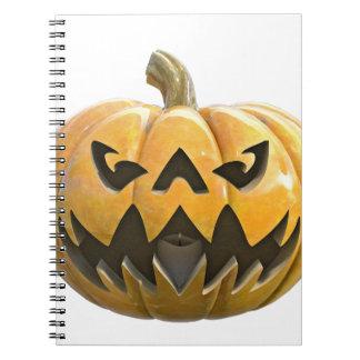 Jack O Lantern 1 Spiral Notebook