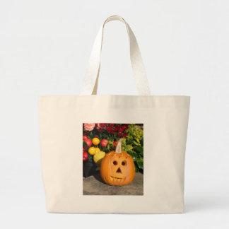 Jack O Lantern 2 Jumbo Tote Bag