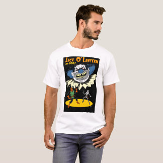 Jack O' Lantern and Boo meet Stinky the Blue Clown T-Shirt