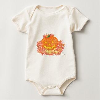 Jack-O-Lantern Baby Bodysuit