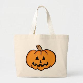 Jack O Lantern Canvas Bag