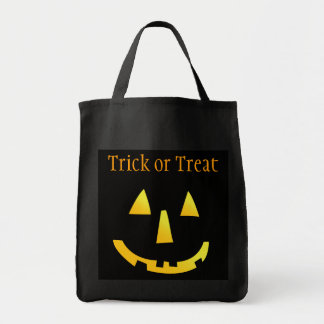 Jack o Lantern Canvas Bags