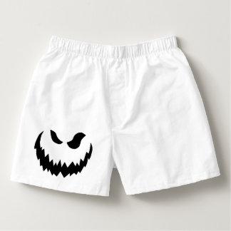 Jack-o-lantern boxers
