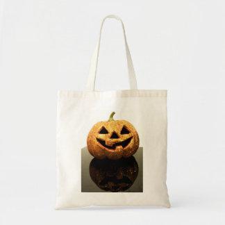 Jack-o'-lantern Budget Tote Bag