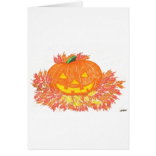 Jack-O-Lantern Cards