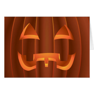 Jack-o-lantern Cards Halloween Party Invitations