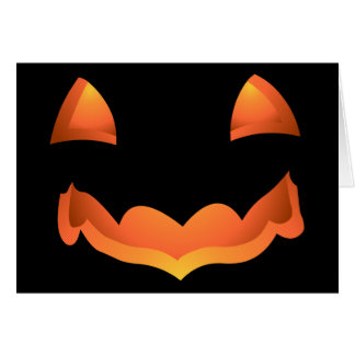 Jack-o-lantern Cards Halloween Party Invitations