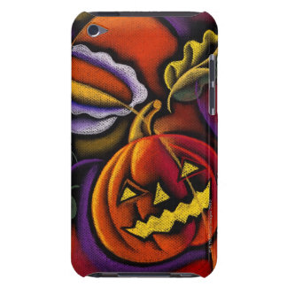 Jack-o'-lantern Barely There iPod Cases