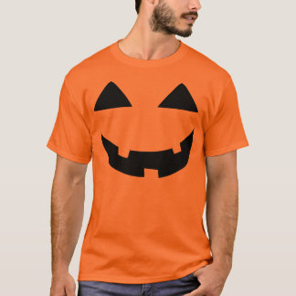 Jack-o-Lantern Face T-Shirt