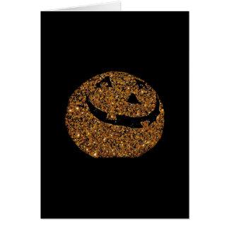 Jack-o'-lantern Greeting Card