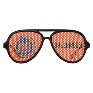 Jack -O -Lantern Halloween Aviator Sunglasses