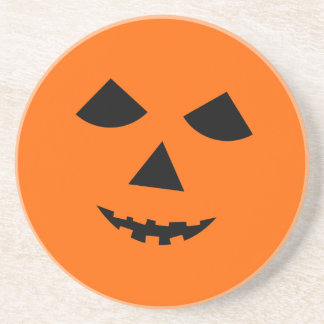 Jack-o-Lantern Halloween Coaster