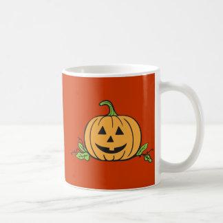 Jack O Lantern Halloween Basic White Mug