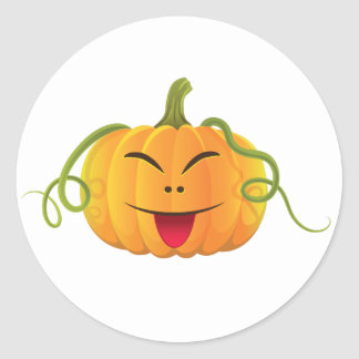 jack-o-lantern Halloween Pumpkin Classic Sticker