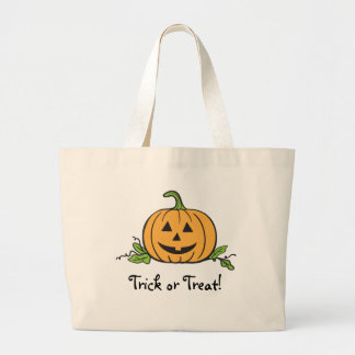 Jack O Lantern Halloween Tote Bag
