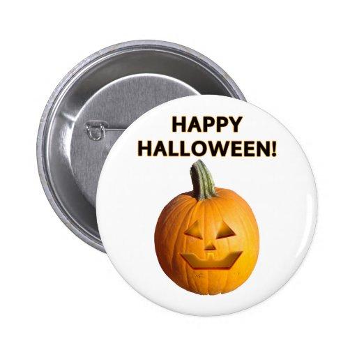 Jack O' Lantern - Happy Halloween! Buttons