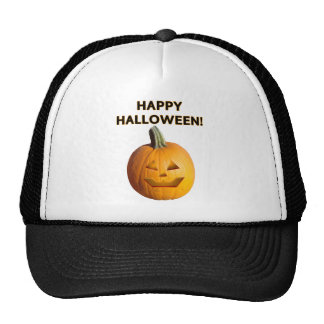 Jack O' Lantern - Happy Halloween! Cap