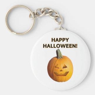 Jack O Lantern - Happy Halloween Keychain