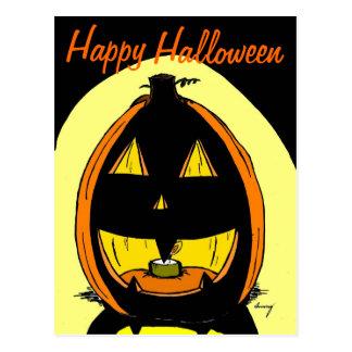 "Jack o' Lantern ""Happy Halloween"" Postcard"