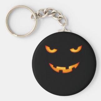 Jack-o-lantern Keychain