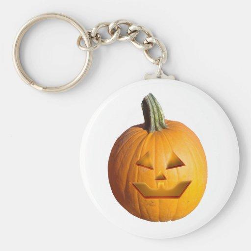 Jack O' Lantern Keychain