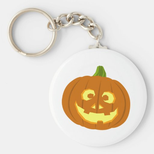 Jack-o-lantern Key Chain