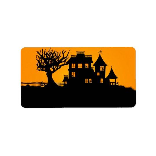 Jack O Lantern Manor Label