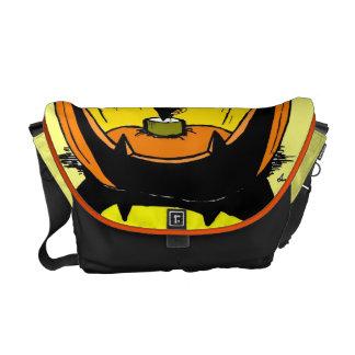 Jack o' Lantern Messanger Bag Commuter Bag