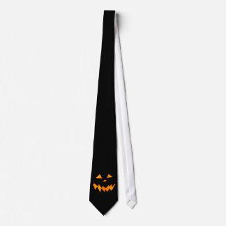Jack-o-Lantern Monster Black Tie