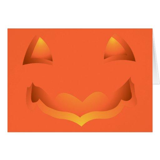 Jack-o-lantern Party Invitations Cards Halloween