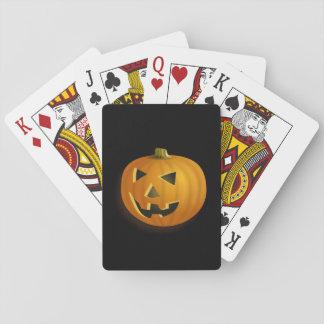 Jack-o-lantern Playing Cards