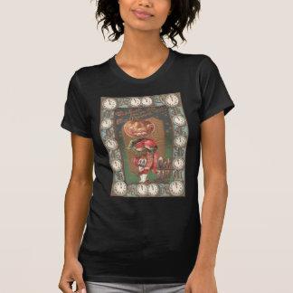 Jack O Lantern Pumpkin Bagpipe Kilt T-Shirt