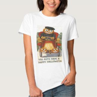 Jack O Lantern Pumpkin Car Oct 31st T Shirts