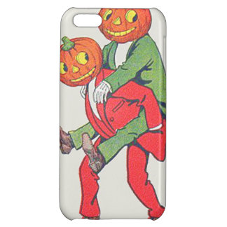 Jack O' Lantern Pumpkin Creature Piggyback iPhone 5C Covers