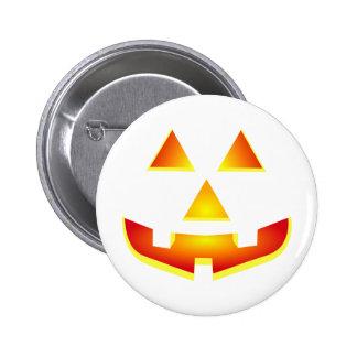 Jack 'O Lantern Pumpkin Face Pins