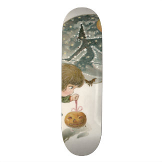 Jack O Lantern Pumpkin Witch Bat Toy Girl 19.7 Cm Skateboard Deck