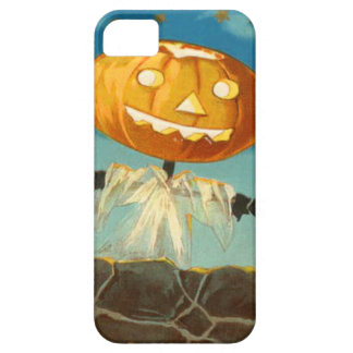 Jack O Lantern Scarecrow Stars Pumpkin Barely There iPhone 5 Case