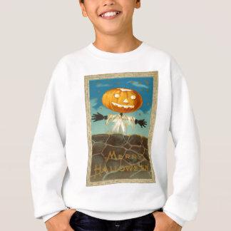 Jack O Lantern Scarecrow Stars Pumpkin Sweatshirt
